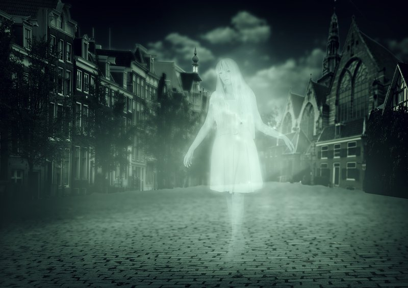 ghostly children