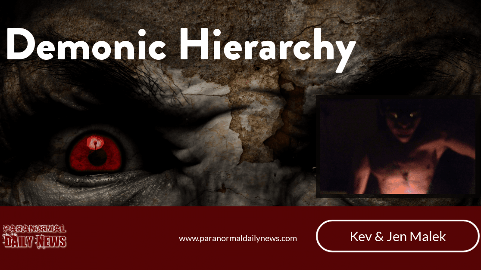Understanding Demonic Hierarchy; Reaching Out To God & The Fear Factor