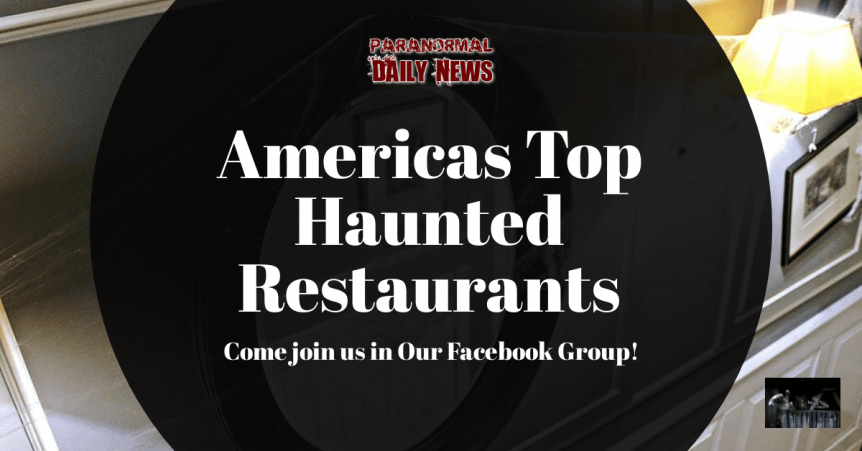 America's Most Haunted Restaurants